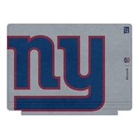 Microsoft Press NFL Edition Type Cover for Surface Pro 4 - New York Giants