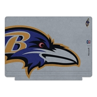 Microsoft Press NFL Edition Type Cover for Surface Pro 4 - Baltimore Raven