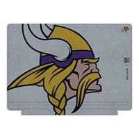Microsoft Press NFL Edition Type Cover for Surface Pro 4 - Minnesota Vikings