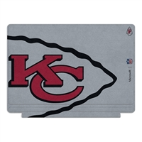 Microsoft Press NFL Edition Type Cover for Surface Pro 4 - Kansas City Chiefs