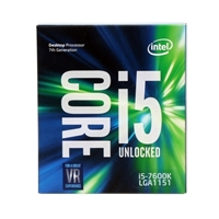 Intel Core i5-7600K Kaby Lake 3.80 GHz LGA 1151 Boxed Processor