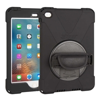The Joy Factory aXtion Bold P Rugged Case w/ Rotating Hand Strap & Stand for iPad mini 4
