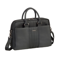 "RIVACASE Narita Business Lady's Laptop Bag Fits up to 14"" - Black"