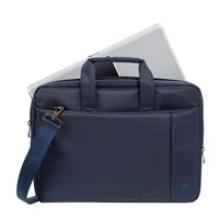"RIVACASE Central Laptop Bag Fits up to 15.6"" - Blue"
