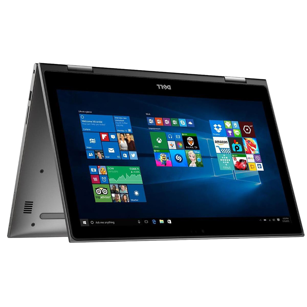 """Dell Inspiron 15 5000 Series 15.6"""" 2-in-1 Laptop Computer Refurbished - Gray"""