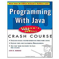 McGraw-Hill SCHAUMS PROG WITH JAVA