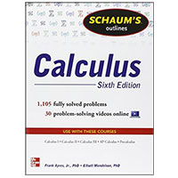 McGraw-Hill SCHAUMS CALCULUS 6/E