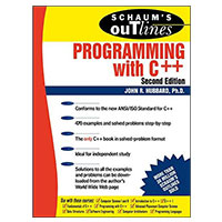 McGraw-Hill Schaum's Outline of Programming with C++, 2nd Edition