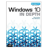 Pearson/Macmillan Books Windows 10 In Depth, 1st Edition