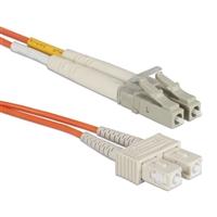 QVS 7m LC to SC Multimode Fiber Duplex Patch Cord