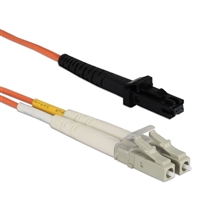 QVS 5m MT-RJ to LC Multimode Fiber Duplex Patch Cord