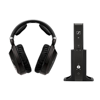 Sennheiser RS 185 Wireless HDR Headphones - Black