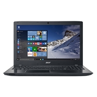 "Acer Aspire E5-575-52JF 15.6"" Laptop Computer Refurbished - Obsidian Black"