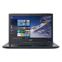 "Acer Aspire E5-575-54SM 15.6"" Laptop Computer Refurbished - Obsidian Black"