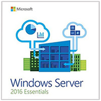 Microsoft Press Microsoft Windows Server Essentials 2016 64 Bit - 1 Server, 2 Devices (OEM)