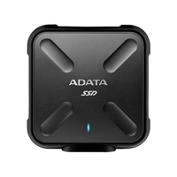 ADATA SD700 Ruggedized 256GB External Solid State Drive - Black
