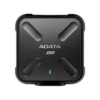 ADATA SD700 Ruggedized 256GB External Solid State Drive - Black