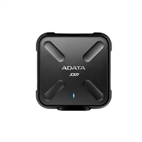 ADATA SD700 Ruggedized 512GB External Solid State Drive - Black
