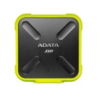 ADATA SD700 Ruggedized 256GB External Solid State Drive - Yellow