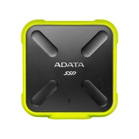 ADATA SD700 Ruggedized 512GB External Solid State Drive - Yellow