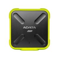 ADATA SD700 Ruggedized 512GB External Solid State Drive - Yellow