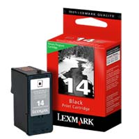 Lexmark 18C2090 #14 Black Return Program Ink Cartridge