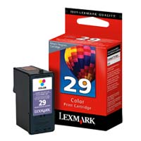 Lexmark 18C1429 #29 Color Return Program Ink Cartridge