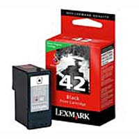 Lexmark 18Y0142 #42 Black Return Program Ink Cartridge