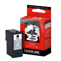 Lexmark 18C1523 #23 Black Return Program Ink Cartridge