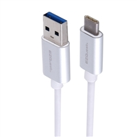 EZQuest Inc. USB 3.1 (G1 Type-C) to USB 3.1 (G1 Type-A) Cable 3.3 ft. - White