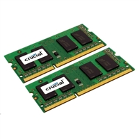 Crucial 8GB DDR3L-1600 (PC3L-12800) CL11 Notebook Memory Kit (Two 4GB Memory Modules)