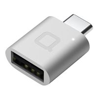 Nonda USB 3.1 (Gen 1 Type-C) to USB 3.1 (Gen 1 Type-A) Female Adapter - Silver