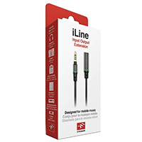 "IK Multimedia 24"" iLine 3.5mm Extension Cable"