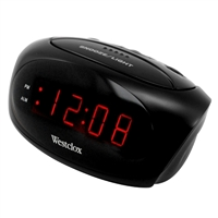 Westclox Super Loud LED Alarm Clock