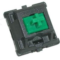 Mechanical Keyboards Cherry MX Green Keyswitch Plate Mount 10 pack
