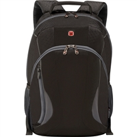 "Swiss Gear Mercury Deluxe Backpack Fits up to 16"" - Black"