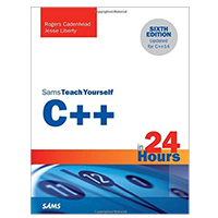 Pearson/Macmillan Books Sams Teach Yourself C++ in 24 Hours, 6th Edition