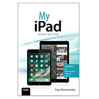 Pearson/Macmillan Books My iPad, 9th Edition