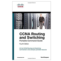 Pearson/Macmillan Books CCNA Routing and Switching Portable Command Guide (ICND1 100-105, ICND2 200-105, and CCNA 200-125), 4th Edition