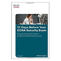 Pearson/Macmillan Books 31 Days Before Your CCNA Security Exam: A Day-By-Day Review Guide for the IINS 210-260 Certification Exam, 1st Edition