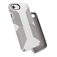 Speck Products Presidio Grip Case for iPhone 7 - White/Ash Gray