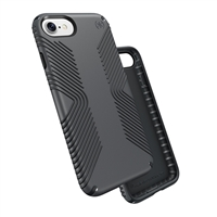 Speck Products Presidio Grip Case for iPhone 7 - Graphite Gray/Charcoal Gray