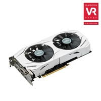 ASUS Radeon RX 480 Overclocked 8GB GDDR5 Dual-Fan Video Card