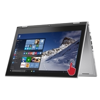 """Dell Inspiron 13 7000 Series 13.3"""" 2-in-1 Laptop Computer - Moonlight Silver"""