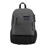 "Jansport Envoy Laptop Backpack Fits Screens up to 15"" - Forge Gray/Triangle Dobby"