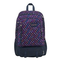 "Jansport Envoy Laptop Backpack Fits Screens up to 17"" - Purple Spot-O-Rama"