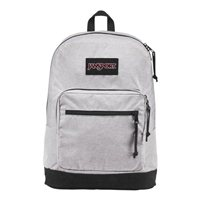 "Jansport Right Pack Digital Edition Laptop Backpack Fits Screens up to 15"" - Heathered Gray Poly"