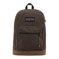 "Jansport Right Pack Digital Edition Wave Herringbone Laptop Backpack Fits Screens up to 15"" - Brown"