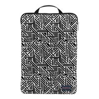 "Jansport 15"" Laptop Sleeve - White Geo Flock"