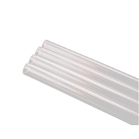 "PrimoChill 1/2"" Rigid PETG Tube - 12 x 30"" - Clear (12-Pack)"